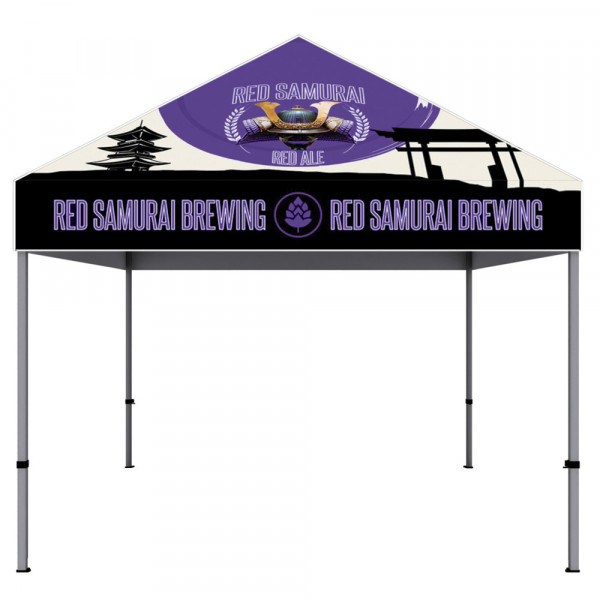 Canopy Tent 10ft x 10ft Aluminum with Dye-sub Fabric Top