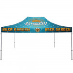 Canopy Tent 15ft x 10ft Aluminum with Dye-sub Fabric Top
