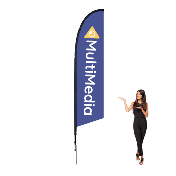 Falcon Flag 10 ft Outdoor With Spike Base