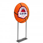 EZ Circle Fabric Banner Display 3ft Diameter with Double Sided Graphics