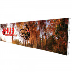 RPL 30 ft Wide Portable Popup Display Includes Printed Graphic