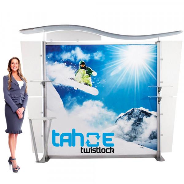 Tahoe Twistlock Modular Display 10ft x 8ft with SEG Graphics