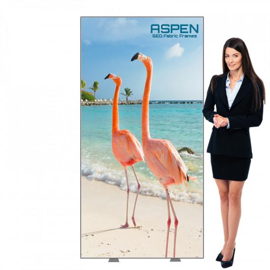 Aspen SEG Display 3ft x 6ft with SEG Graphics Printed