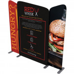 EZ Tube Connect Display 10ft Kit A, Includes Printed Graphics