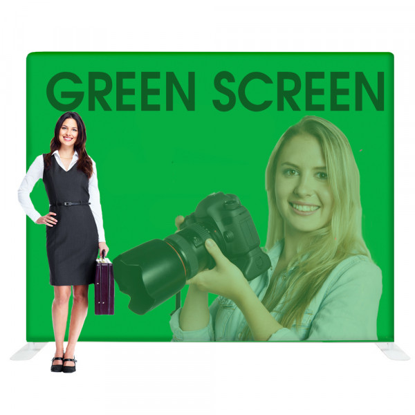EZ Tube Green Screen Photography Backdrop 10ft Chroma Key Green