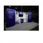 Hybrid Pro 20ft Curved Backdrop with SEG Graphics - Kit 10