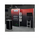 Hybrid Pro 10ft Modular Display with Curved Panels - Kit 2
