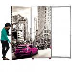 Hybrid Pro 10ft Booth,  SEG Graphics with Backlit Center - Kit 1