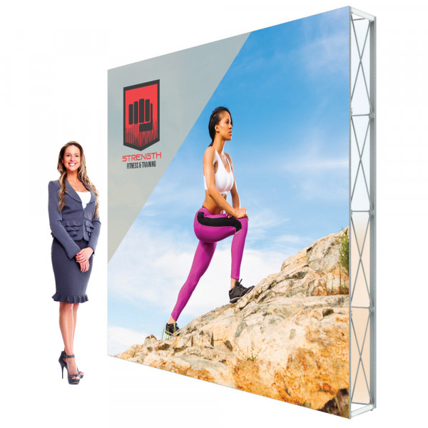 Lumiere SEG Pop Up Booth 10ft Backdrop Printed Double Sided