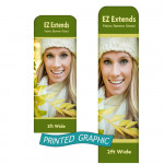Graphic Only for EZ Extend Banners - 2ft Wide