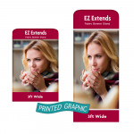 Graphic Only for EZ Extend Banners - 3ft Wide