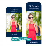 Graphic Only for EZ Extend Banners - 4ft Wide
