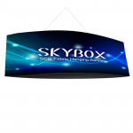 Skybox Football Ceiling Banner 12ft x 5ft Includes Fabric Graphics