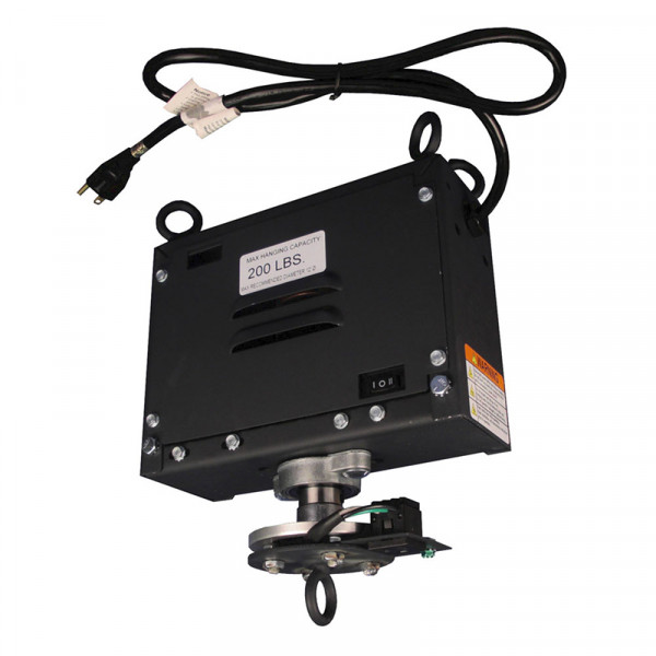Rotator Motor for Hanging Signs 200 lb Capacity with Power Outlet