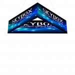 Skybox Triangle Hanging Banners 10ft x 2ft with Custom Graphics