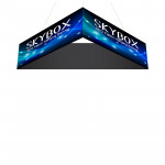 Skybox Triangle Hanging Banners 12ft x 2ft with Custom Graphics