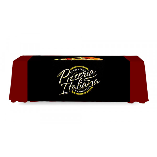 Table Runner 5ft wide Backless Fabric Custom Printed Dye Sublimation